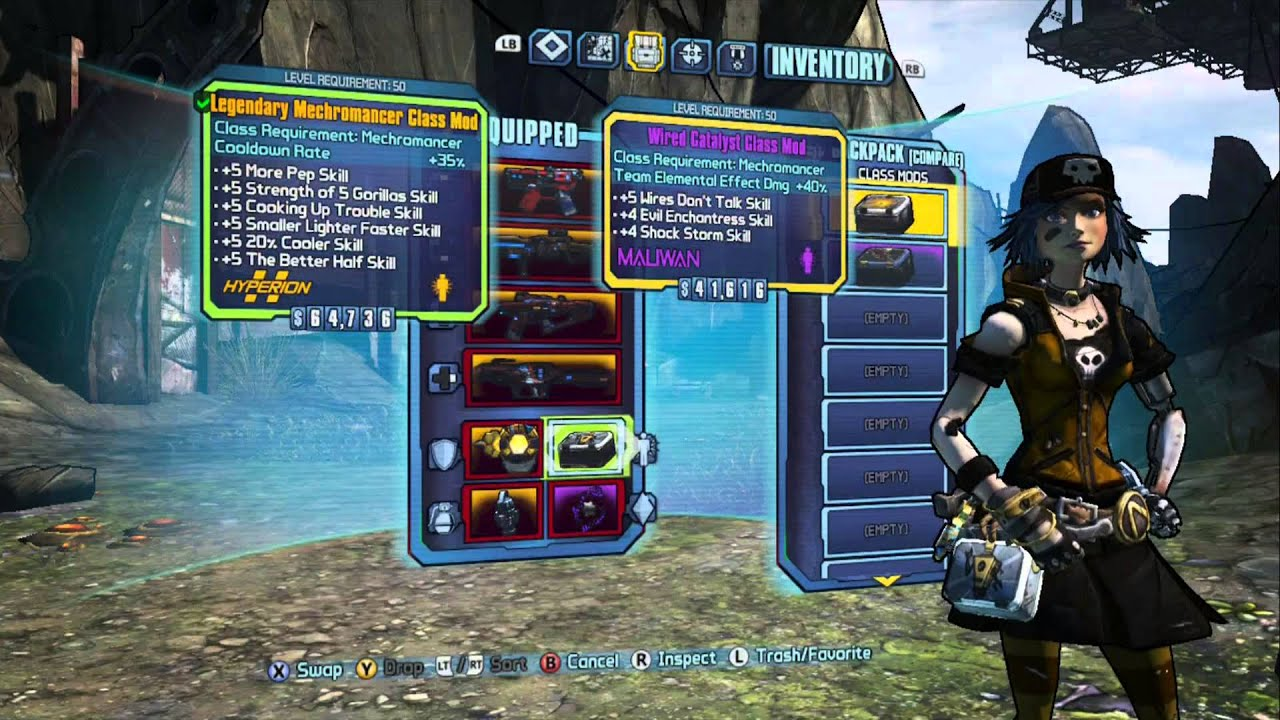 Borderlands 2 - Hybrid Mechromancer Build - It's SHOCKINGLY Effective!!