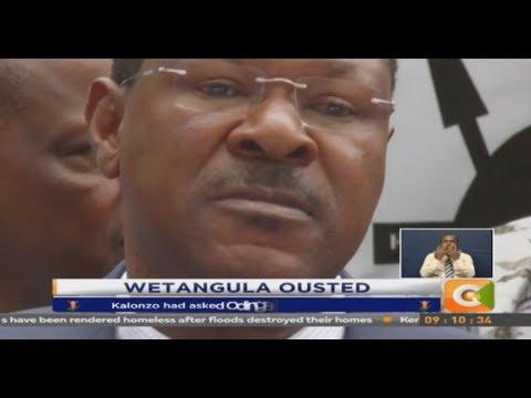 ODM's Orengo takes over from Wetangula