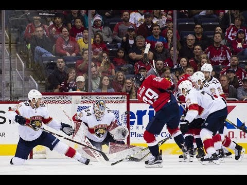 Florida Panthers vs Washington Capitals - October 21, 2017 | Game Highlights | NHL 2017/18