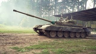 Контури. Тест-драйв танка Т-72