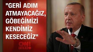 Cumhurbaşkanı Erdoğan'dan yeni Barış Pınarı Harekatı açıklaması