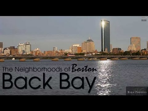 Boston's Neighborhoods : The Back Bay