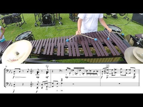 "2018 Cadets Marimba - LEARN THE MUSIC to ""Demonic Thesis"""