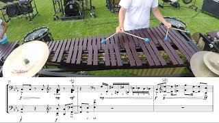 """2018 Cadets Marimba - LEARN THE MUSIC to """"Demonic Thesis"""""""