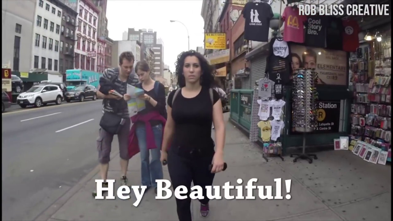 92004e1ae4b Woman In New York City Gets Harassed Over 100 Times - YouTube