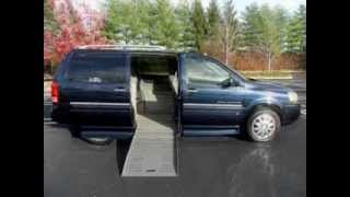 Used Handicap Wheelchair Ramp Van For Sale - 2006 Buick Terraza with only 61,000 Miles !