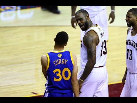 LeBron James on his growing rivalry with Steph Curry. NBA Finals Game 6