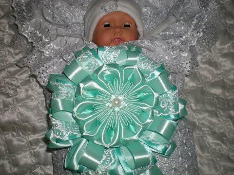 Бант для новорожденных своими руками. / Bow ribbons / DIY Tutorial