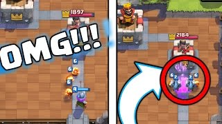 SECRET TRICK IN CLASH ROYALE! PLAY CARDS BEFORE YOUR OPPONENT!