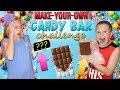 Create Your Own Candy Bar Challenge || Bro vs Sis
