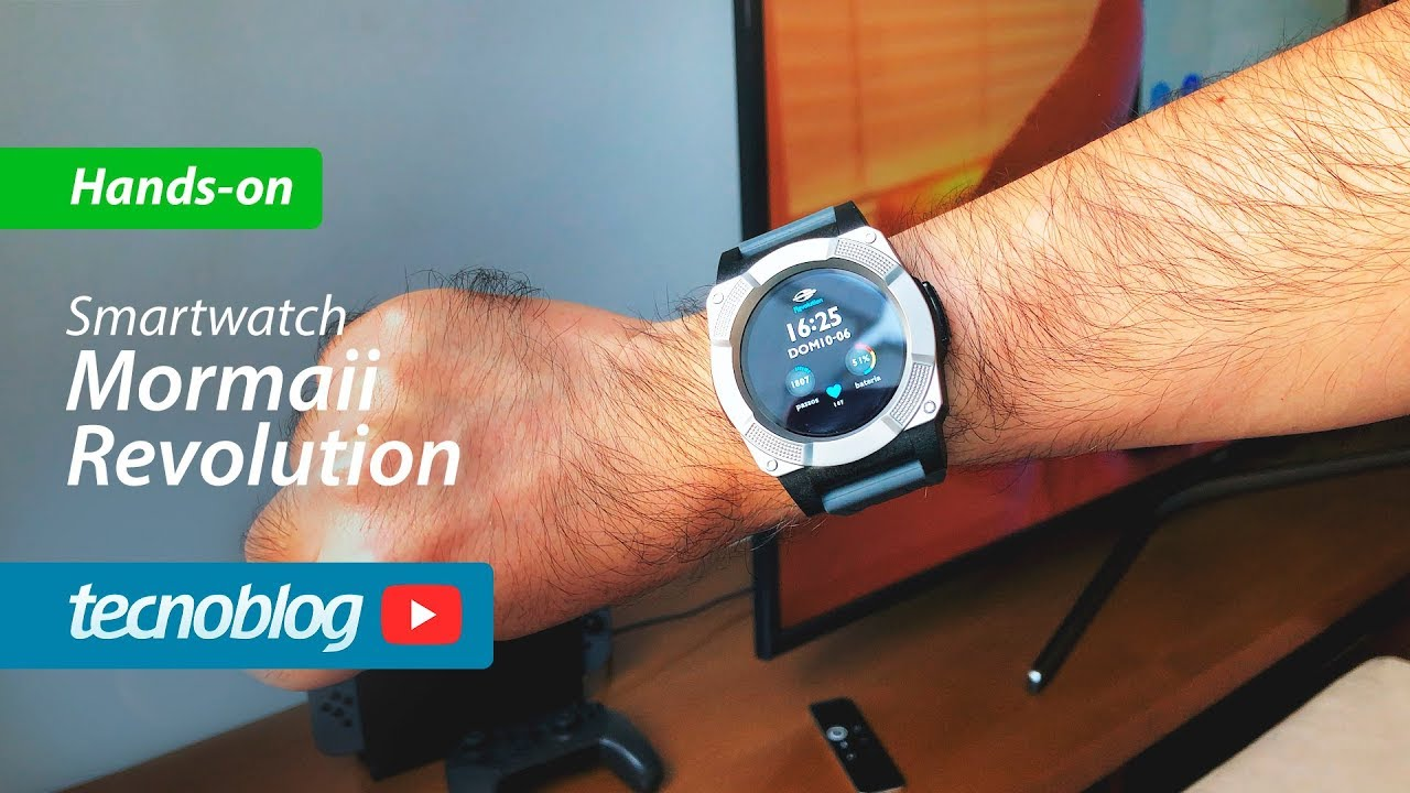 Mormaii Revolution Smartwatch - Hands-on (ad) - YouTube 705d14bec5