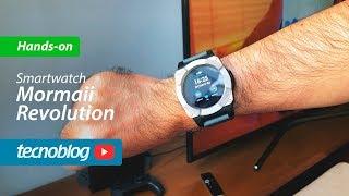 8a675ee54 Mormaii Revolution Smartwatch - Hands-on (ad)