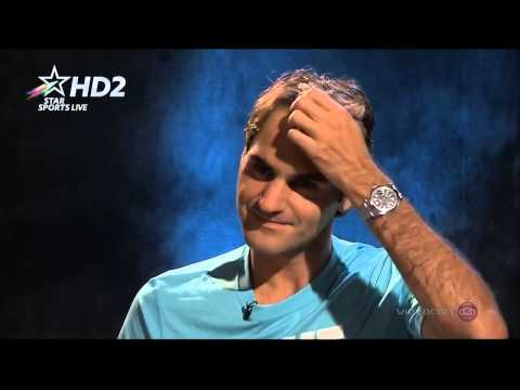 Roger Federer interview after Kavcic match AO 2014