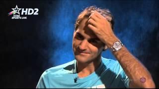Roger Federer interview after Kavcic match AO 2014