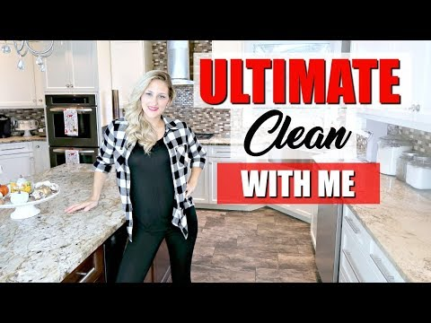✨ULTIMATE CLEAN WITH ME 2018 ~ WEEKDAY CLEANING MOTIVATION ~ ALL DAY CLEANING