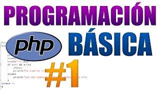 CURSO PROGRAMACIÓN BÁSICA EN PHP #1 | INTRODUCCIÓN, VARIABLES Y CONDICIONALES