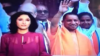 biased foreign media towards india on uttar predesh cm shri yogi adinath ji