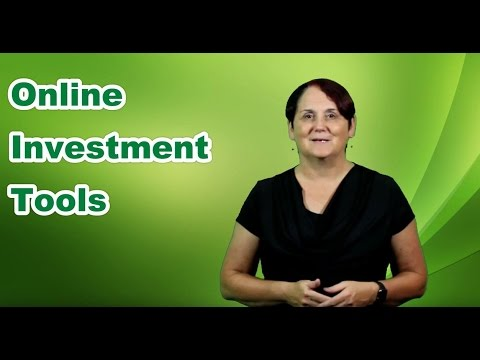 Online Investment Tools