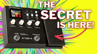 Nux Mg 300 Expression Pedal Demo | Secret Tones Here!
