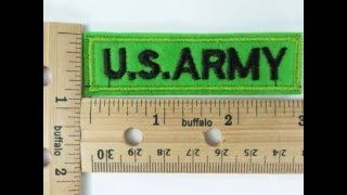 U.S. ARMY embroidered iron on patch wholesale accessories wholesalesarong.com