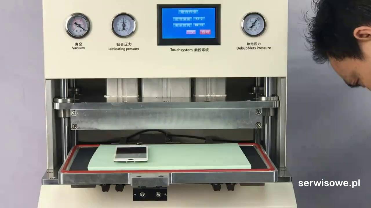 f9b577645f2739 TBK-908 Professional iPhone Samsung EDGE LCD broken screen repair machine