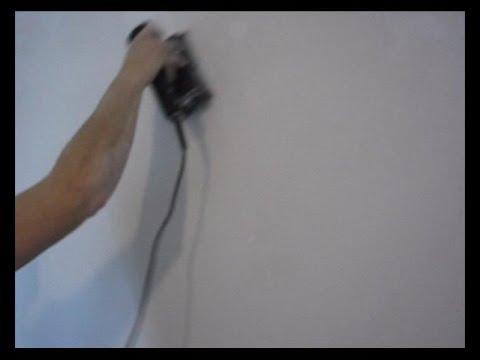 C mo dar perlita en una pared lijado youtube - Como aislar una pared ...