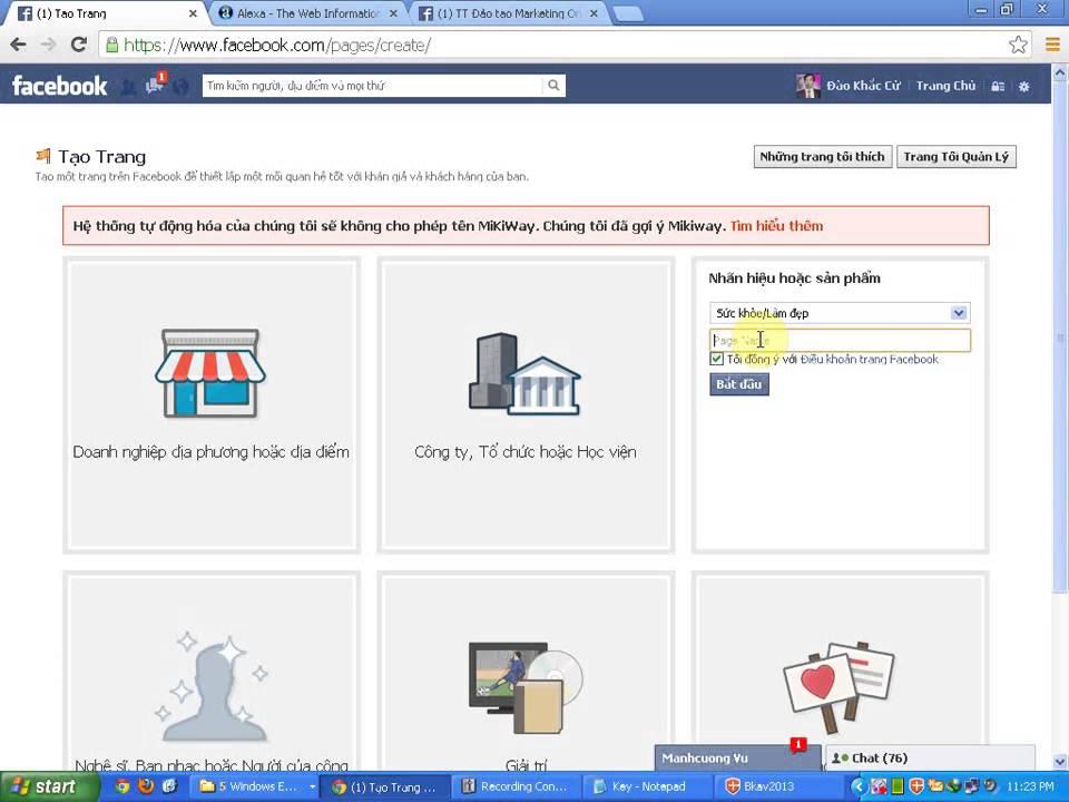 Hướng dẫn tạo Fanpage Facebook tăng hiệu quả trong bán hàng online