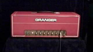 Granger M50 Plexi demo Van Halen bits