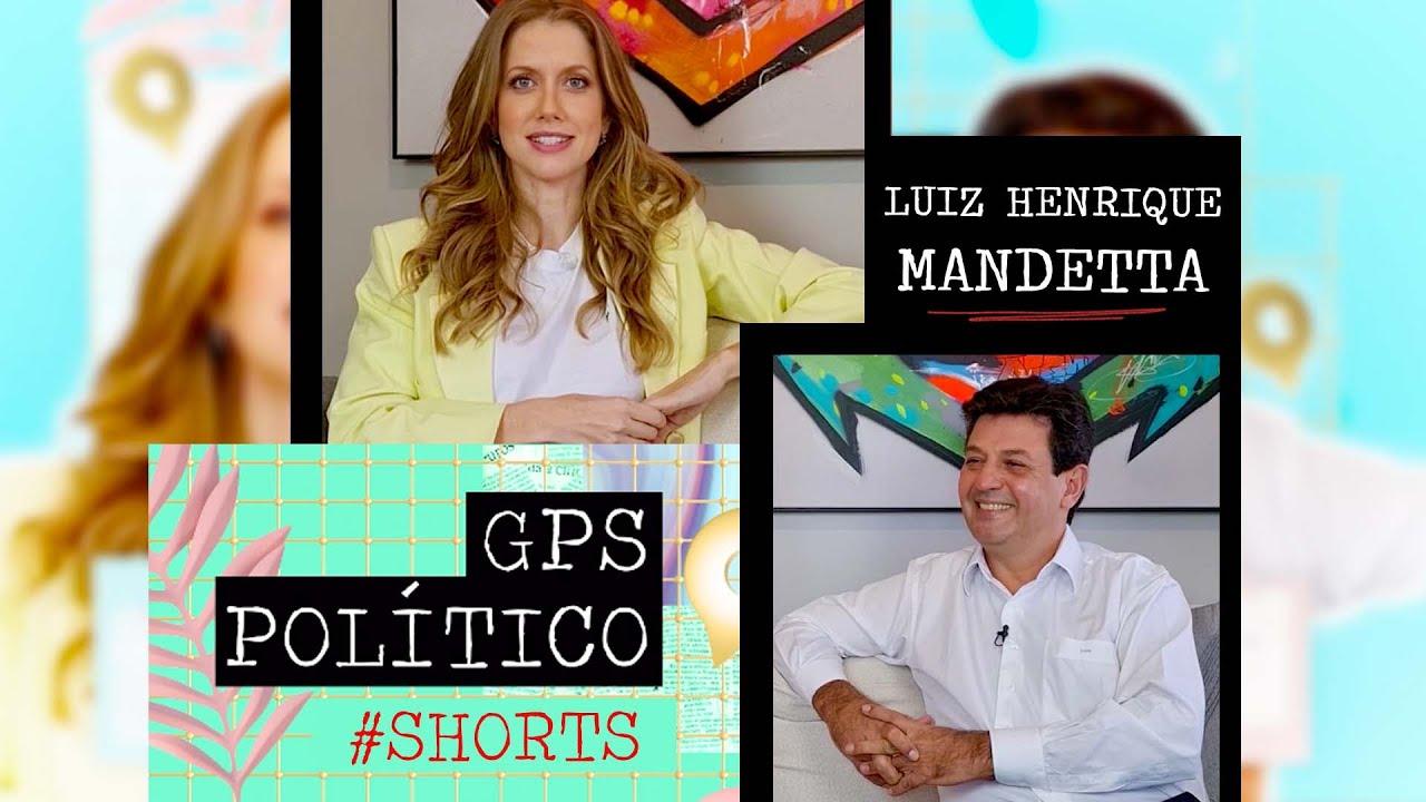 GABI PRIOLI BATE-PAPO COM LUIZ HENRIQUE MANDETTA #SHORTS