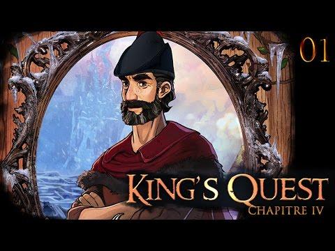 King's Quest Chapitre IV - 01 - drama du papa [4K60fps]