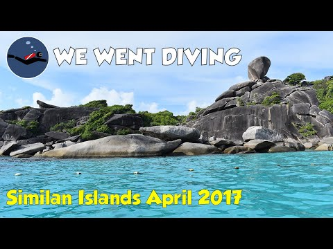 Similan Diving Tours on Sawasdee Fasai April 21-25 2017