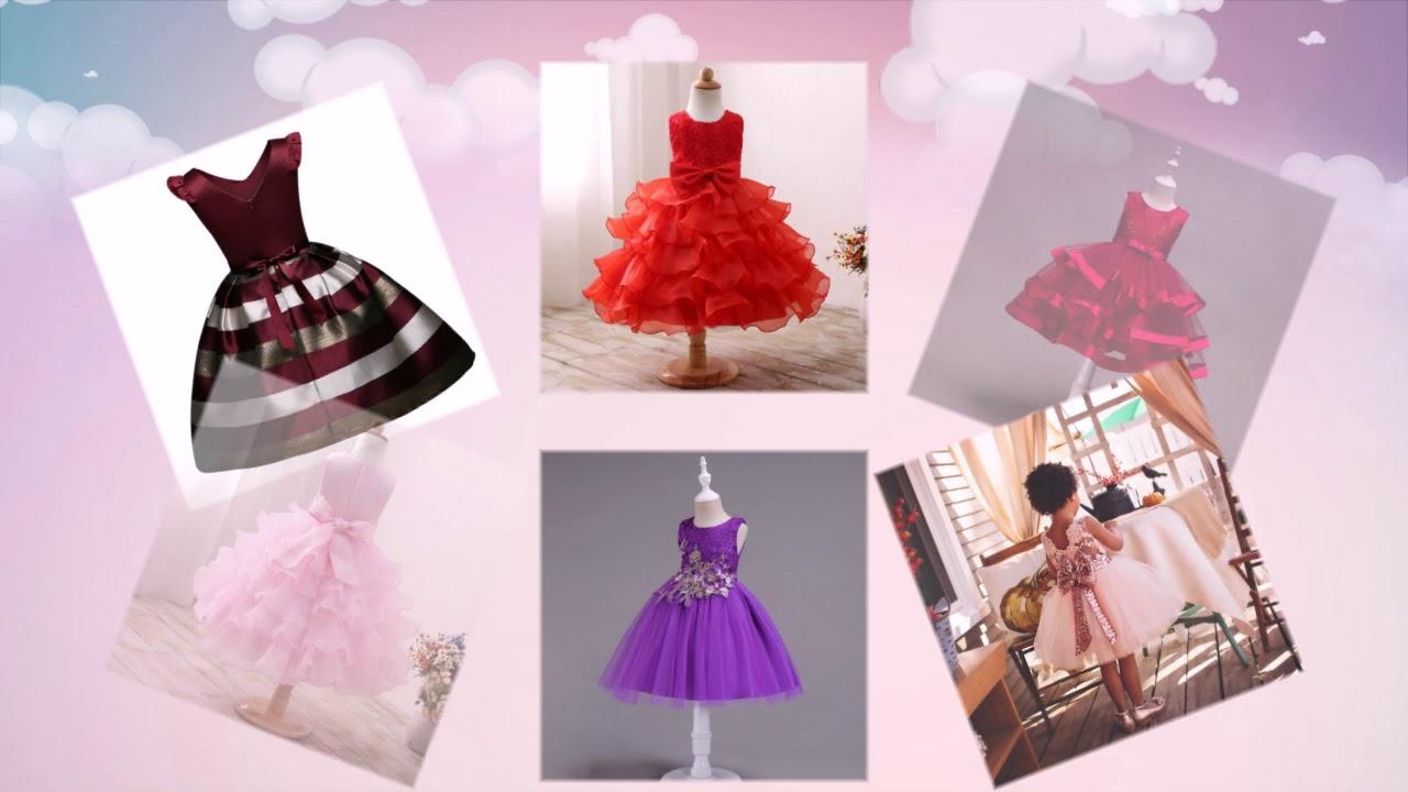 Детские платья на праздник. Пышные модели с красивыми оборками