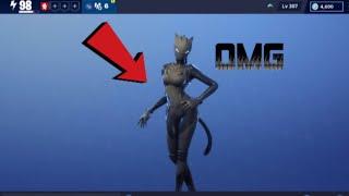 Fortnite Stw new Black Lynx skin