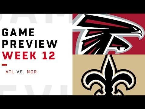 Atlanta Falcons vs. New Orleans Saints   Week 12 Game Preview   NFL Playbook