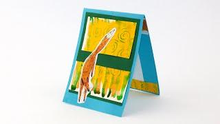 Бумага для скрапбукинг-открытки своими руками