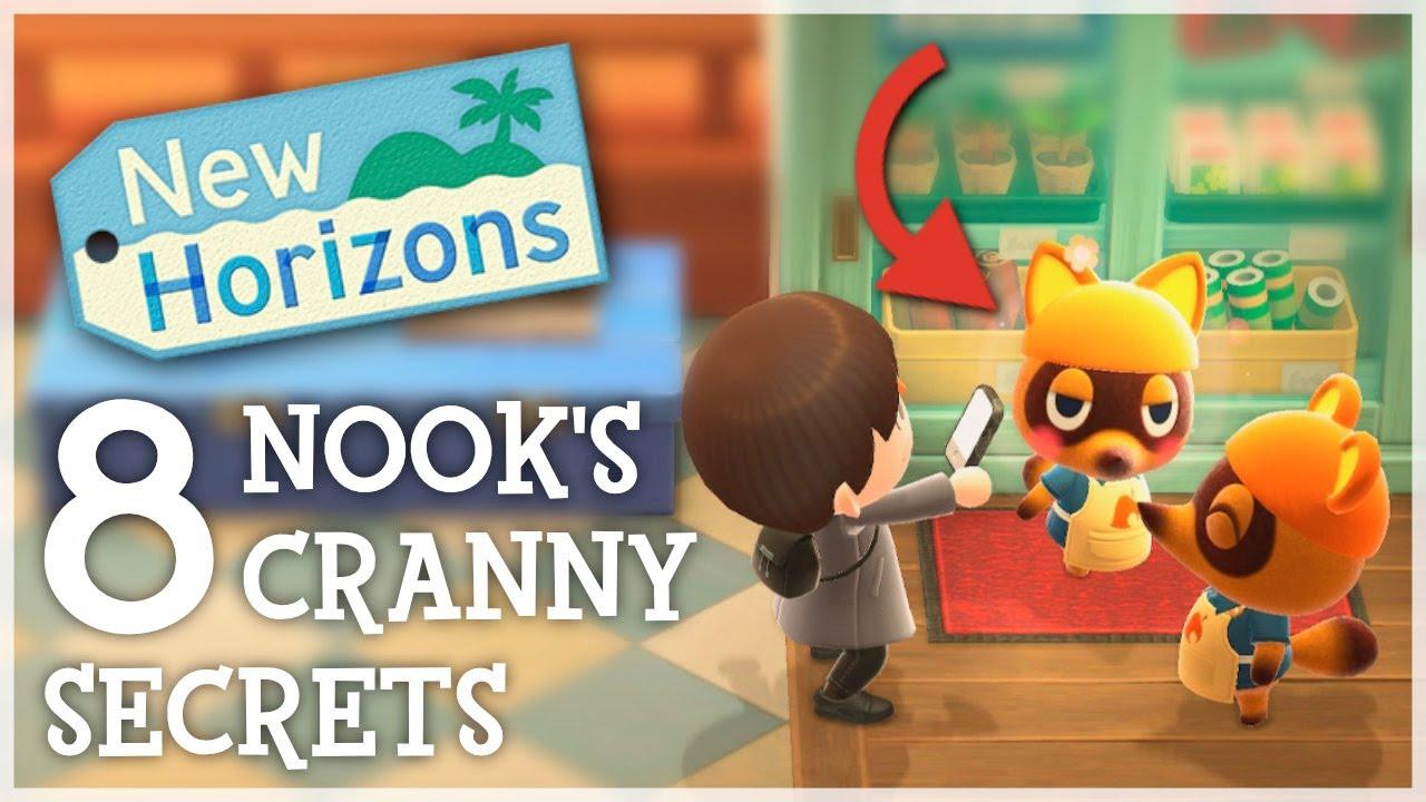 Animal Crossing New Horizons - 8 Nook's Cranny SECRETS You Missed!