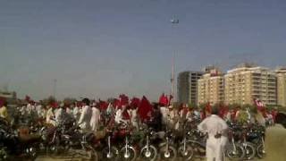 2nd May Jashan e khyber pakhtoonkhwa in Karachi at seaveiw pt.3
