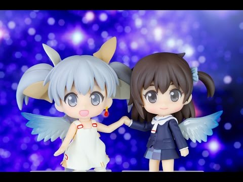 Nendoroid Ruuko and Tama Unboxing and Review [WIXOSS]