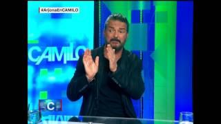 La entrevista de Camilo en la que Ricardo Arjona se enfada y se marcha