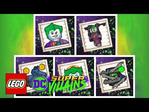LEGO DC Super-Villains: Batman: The Animated Series Level Pack - Achievements Revealed!
