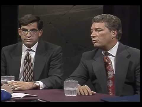 "The first ""Dialogue on Idaho Public Television"" show"