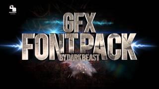 DarkBeastGFX   GFX FONT PACK