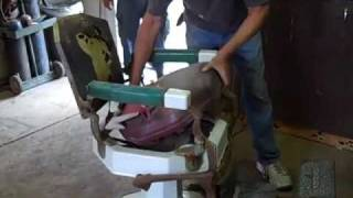 1920's Koken Barbers Chair Ricks Restorations