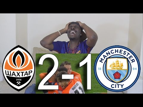 Barcelona Fan React To Shakhtar Donetsk vs Manchester City 2 1 All Goals & Highlights