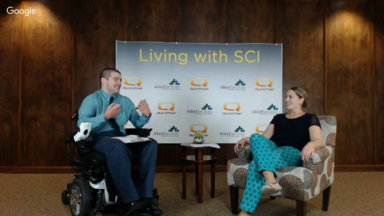 Webinar: Living with Spinal Cord Injury