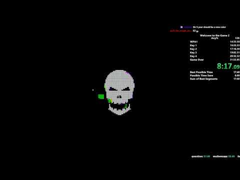 Welcome to the Game 2 Speedrun in 31:48 [WR]