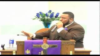 Me (Pastor Timothy Davis) Preaching At The Zion Church Here In Memphis, TN (sermon close)