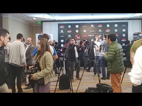 UFC Fight Night Chile: Media Day