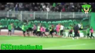 كأس الجزائر: شباب قسنطينة 2 ـ مولودية الجزائر 1 : أجواء الملعب + التيفو (2)