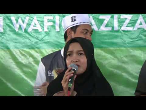 Dwi MQ feat Wafiq Azizah iringan El Bita UIN Walisongo  -  roqot aina (assalamu'alaika)